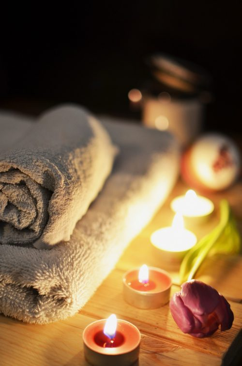 stress relief candles bath COPD HelpHOPELive