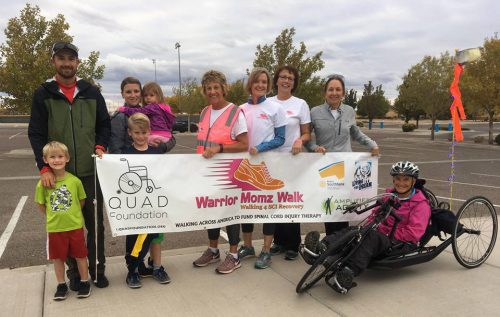 Kay Ledson Warrior Momz Walk
