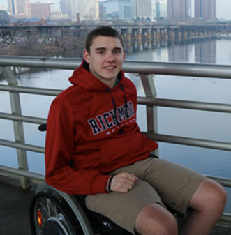 Cole sustained a spinal cord injury diving into shallow water