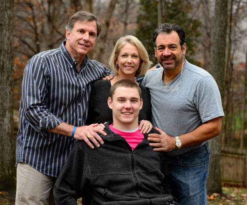 Cole Sydnor sustained a spinal cord injury diving into shallow water