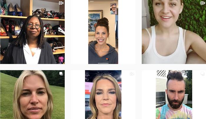celebrity videos for Annie McMahon on Instagram