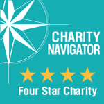 Charity Navigator 4 star charity designation logo