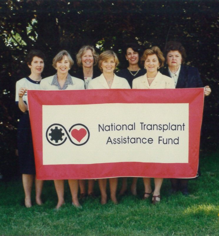 Early picture of the NTAF staff