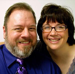 Headshot of David and Sharon Talkington