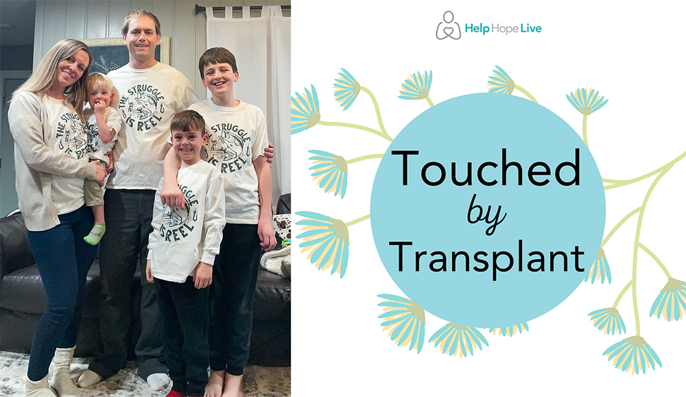 Eric Storms and his family were touched by transplant