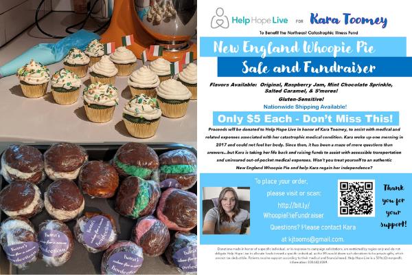 whoopie pie cupcakes bake sale fundraiser
